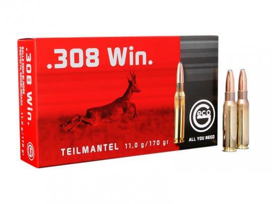 GECO .308 Winchester, Teilmantel 170 grs 1 Packung (20 Schuss á 1,75 €*)