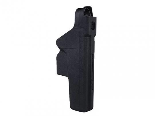 GLOCK Sport-/Dutyholster - aus Kunstoff (rechts) Kal. 9 mm, .380 Auto, .357 SIG, .40 S&W für eine Gürtelbreite bis 34 mm
