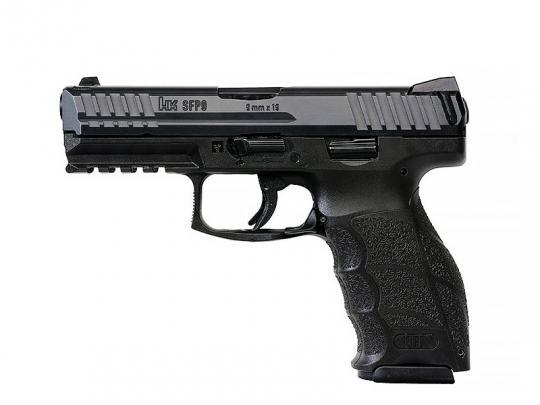 Heckler & Koch SFP9 SF mit Griffstück schwarz