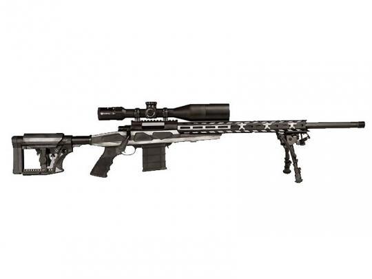 "HOWA M-1500 APC ""American Flag"" GRAYSCALE im Kaliber .308 Winchester"