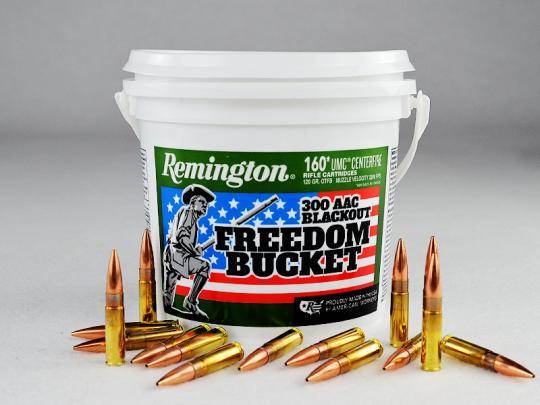 Remington .300 Blackout, Hohlspitz 120 grs 1 Eimer (160 Schuss á 1,218 €*)