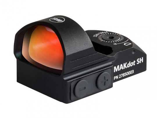 MAKdot SH, Rotpunktvisier Ohne Montage