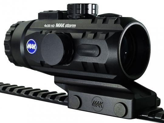 MAKstorm 4x30i HD Prismenvisier Mit Standardmontage