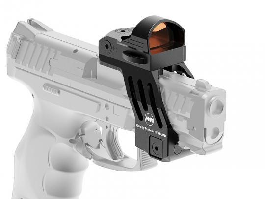 MAK P-LOCK Pistolen-Reflexvisiermontage Montage für HK SFP9, SFP9 L
