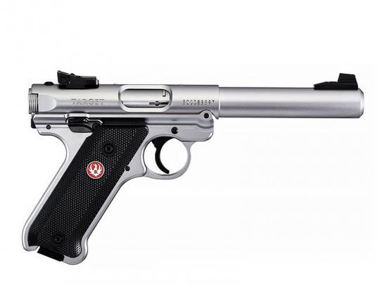 "RUGER Mark IV Target 5,5"", Stainless"