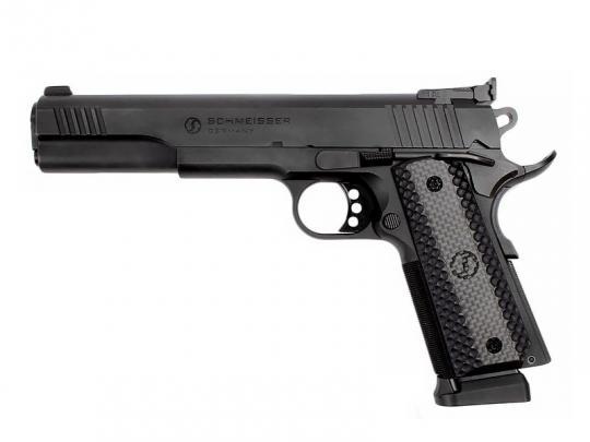 SCHMEISSER 1911 Hugo, Pistole .45 ACP, Schwarz, 6 Zoll-Lauf
