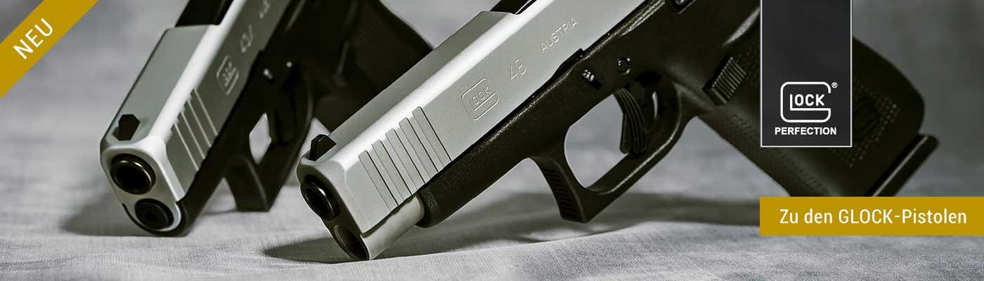 GLOCK-Pistole schnell und einfach online bestellen und bei DieWaffenbrüder abholen