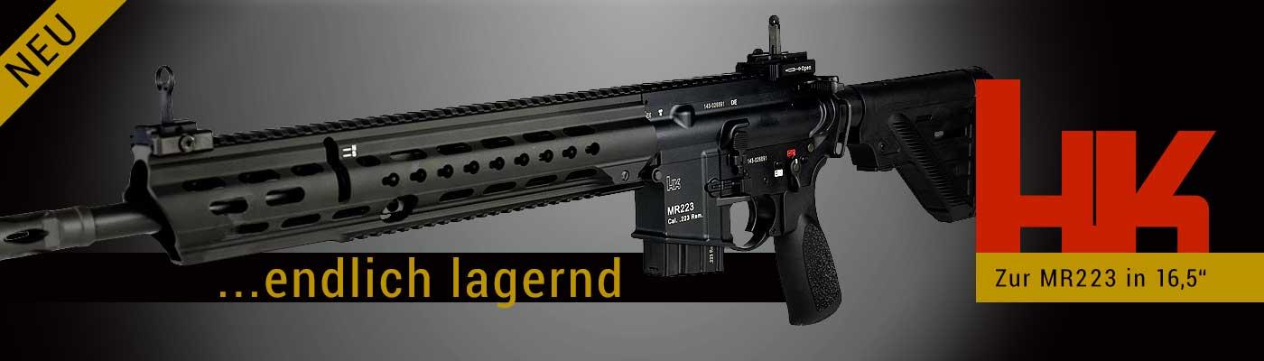 HK MR223 SLIMLINE 16,5-Zoll mit langem Handschutz