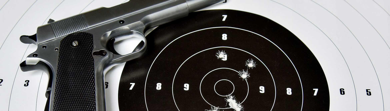 Pistolen-Klassiker 1911er im  Kaliber .45 ACP